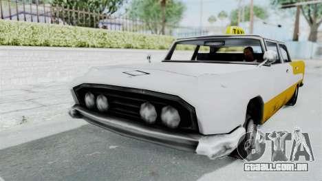 GTA VC Oceanic Taxi para GTA San Andreas