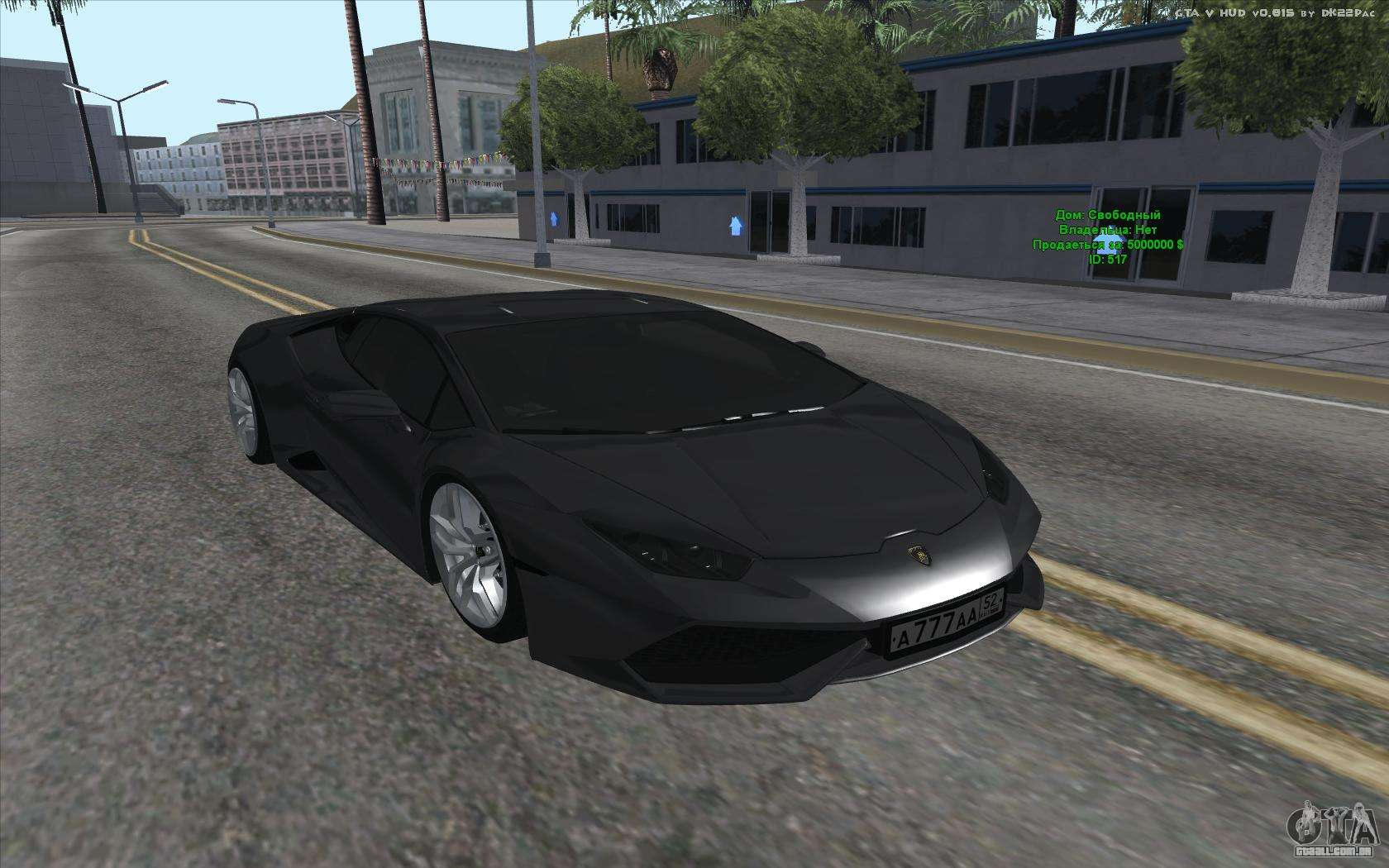 lamborghini huracan para gta san andreas. Black Bedroom Furniture Sets. Home Design Ideas