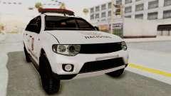 Mitsubishi Pajero Policia Nacional Paraguaya para GTA San Andreas