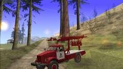 GÁS 63 APG-14 caminhão de bombeiros