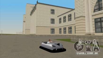 O carro para o circuito para GTA San Andreas