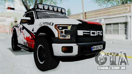 Ford F-150 Raptor 2015 para GTA San Andreas