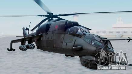 Mi-24V Russian Air Force 39 para GTA San Andreas
