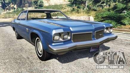 Oldsmobile Delta 88 1973 v2.0 para GTA 5