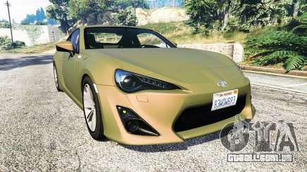 Toyota GT-86 v1.6 para GTA 5