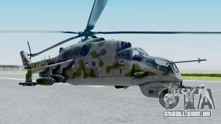 Mi-24V Soviet Air Force 14 para GTA San Andreas