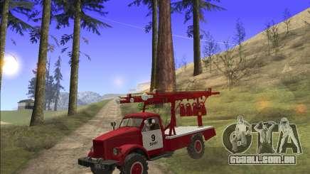 GÁS 63 APG-14 caminhão de bombeiros para GTA San Andreas