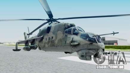 Mi-24V Croatian Air Force H-035 para GTA San Andreas