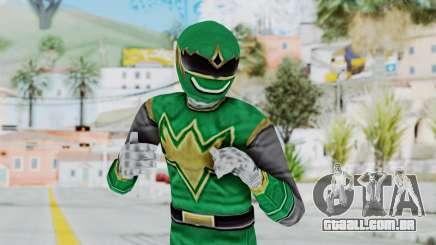 Power Rangers Ninja Storm - Green para GTA San Andreas