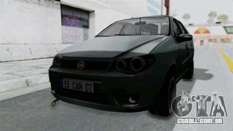 Fiat Albea para GTA San Andreas vista direita