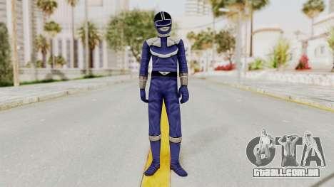 Power Rangers Time Force - Blue para GTA San Andreas segunda tela
