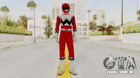 Power Rangers Lost Galaxy - Red para GTA San Andreas segunda tela