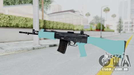 IOFB INSAS Light Blue para GTA San Andreas segunda tela