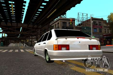 VAZ 2114 Brodyaga para GTA 4 vista de volta