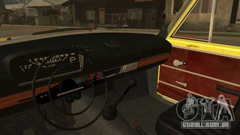 VAZ 2102 BK para GTA San Andreas vista traseira
