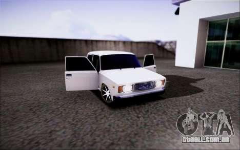 VAZ 2107 DE FERTILIZAÇÃO IN VITRO para GTA San Andreas