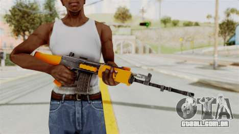 IOFB INSAS Plastic Orange Skin para GTA San Andreas terceira tela