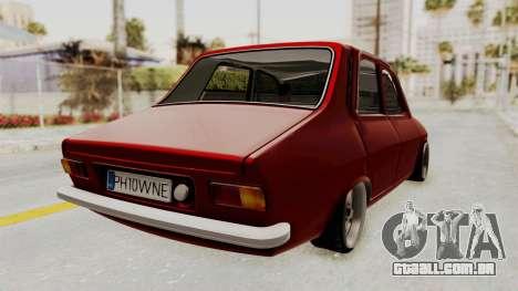 Dacia 1310 WNE para GTA San Andreas esquerda vista