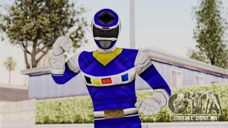 Power Rangers In Space - Blue para GTA San Andreas