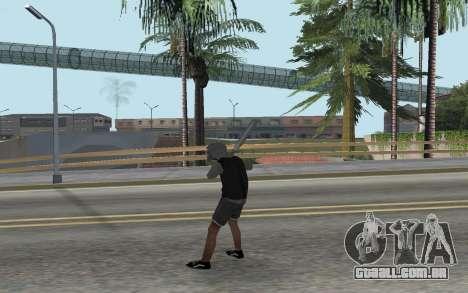 Novo bum para GTA San Andreas terceira tela