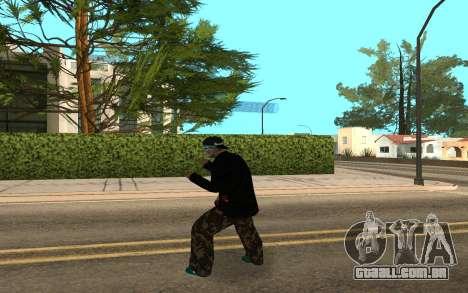 Varios Los Aztecas Gang Member v5 para GTA San Andreas terceira tela