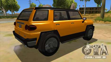 Karin Beejay XL para GTA San Andreas vista direita