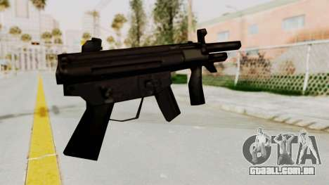 Liberty City Stories SMG para GTA San Andreas segunda tela