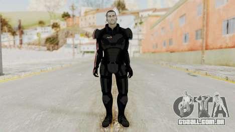 Mass Effect 2 Shepard Default N7 Armor No Helmet para GTA San Andreas segunda tela
