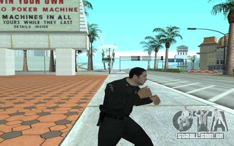 Los Santos Police Officer para GTA San Andreas terceira tela