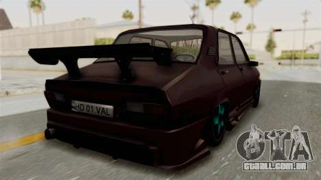 Dacia 1310 TX Tuning para GTA San Andreas vista direita
