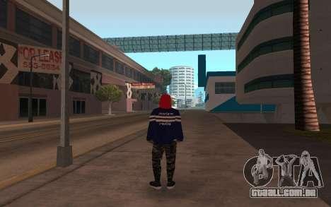 Novo v3 sem-teto para GTA San Andreas segunda tela