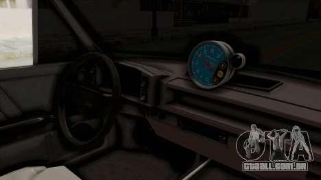 Fiat 128 De Picadas para GTA San Andreas vista interior