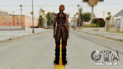 Mass Effect 2 Jack para GTA San Andreas terceira tela