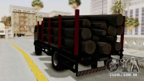 FAP Kamion za Prevoz Trupaca para GTA San Andreas traseira esquerda vista