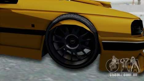 Peugeot Pars Full Sport para GTA San Andreas vista traseira