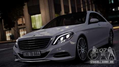 Mercedes-Benz w222 para GTA 4