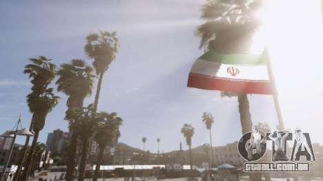 GTA 5 Iranian Flag segundo screenshot