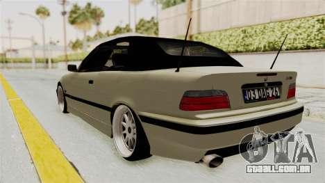 BMW 320CI E36 para GTA San Andreas esquerda vista
