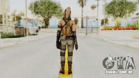 Victoria Kanayeva from Phantomers para GTA San Andreas terceira tela