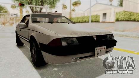 Imponte Bravura V6 Sport 1990 para GTA San Andreas