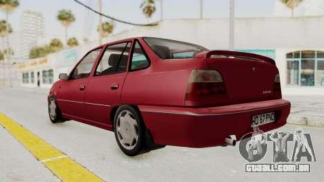 Daewoo Cielo 1.5 GLS 1998 para GTA San Andreas vista direita