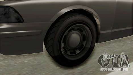 GTA 5 Vapid Stanier II Police Cruiser 2 IVF para GTA San Andreas vista traseira