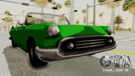 Glendale XS para GTA San Andreas vista direita