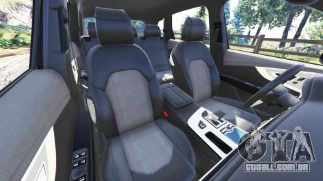 GTA 5 Audi Q7 2015 [rims1] vista lateral direita