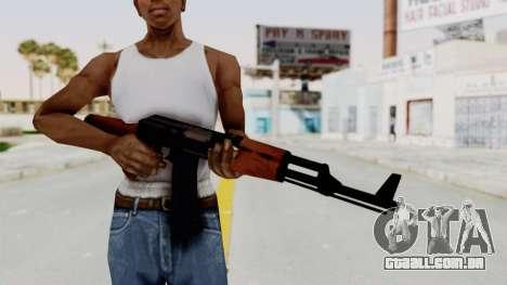 Liberty City Stories AK-47 para GTA San Andreas