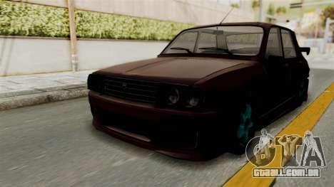 Dacia 1310 TX Tuning para GTA San Andreas traseira esquerda vista