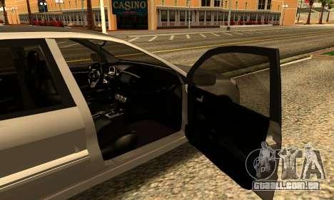 Mitsubishi Lancer 2005 para GTA San Andreas traseira esquerda vista