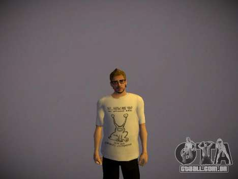 How are you T-Shirt para GTA San Andreas