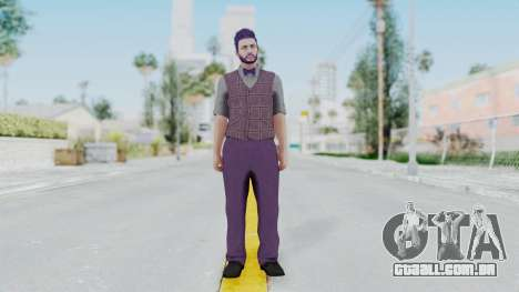 Skin de GTA 5 Online para GTA San Andreas segunda tela