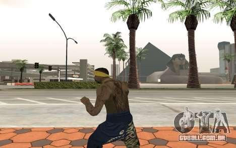 Los Santos Vagos Gang Member para GTA San Andreas terceira tela